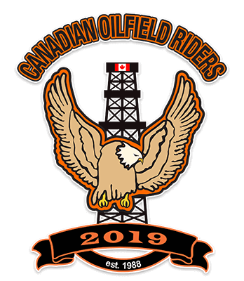 Canadian Oilfield Riders Patch
